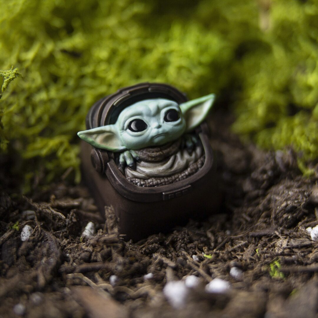Space Goblin Hero Keycap