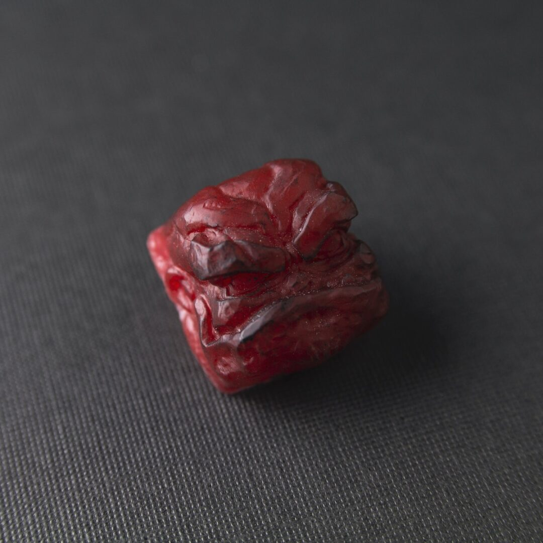 "Clifford - Mud Blood | Resin Casted Keycap ""Experimental Series"""